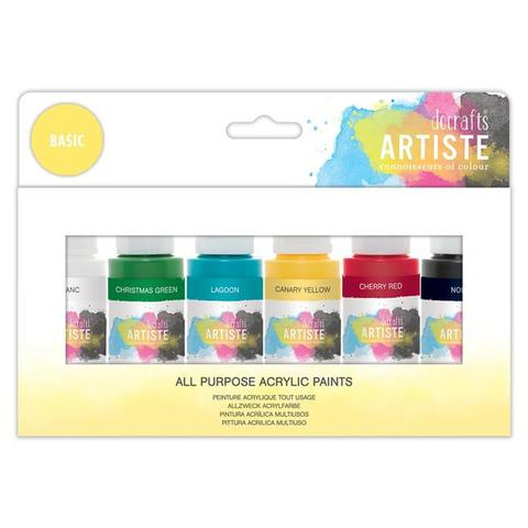 Artiste  Acrylic Pack - Basic