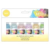 Artiste Acrylic Pack - Pastels