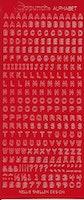 Nellie Snellen - Stickers Alfabet - Röd
