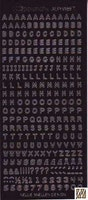 Nellie Snellen - Stickers Alfabet - Svart