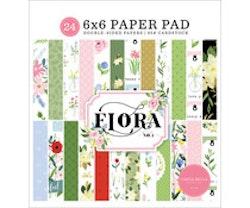 Carta Bella Flora 6x6 Inch Paper Pad