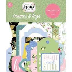 Carta Bella Flora No.4 Frames & Tags