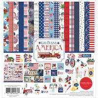 Carta Bella God Bless America 12x12 Inch Collection Kit