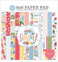 Carta Bella Summer 6x6 Inch Paper Pad