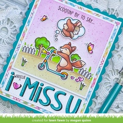 Lawn Fawn - Scootin' By - Clearstamps