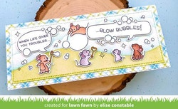 Lawn Fawn Bubbles of Joy  - Clearstamps