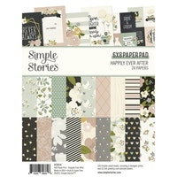 Simple Stories -Happily Ever After 6x8 Inch Paper Pad