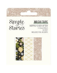 Simple Stories Happily Ever After Washi Tape