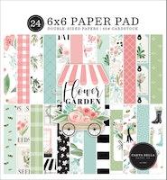 Carta Bella Flower Garden 6x6 Inch Paper Pad
