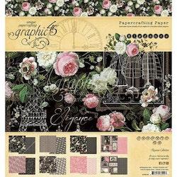 Graphic 45 - Elegance 8x8 Inch Paper Pad