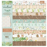 Crafter's Companion - Woodland Friends 6x6 Inch Paper Pad