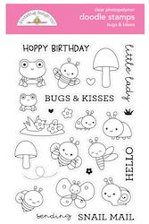 Doodlebug Design - Bugs & Kisses Doodle Stamps
