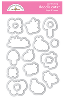 Doodlebug Design - Bugs & Kisses Doodle Cuts