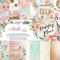 Memory Place - Happy Place 6x6 Inch Paper Pack