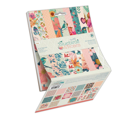 Papermania - Bluebirds & Roses 6x6 Inch Paper Pad