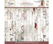 Crafter's Companion - Vintage Diary 6x6 Inch Paper Pad