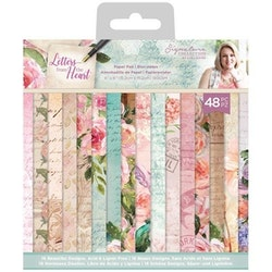 Crafter's Companion Letters From The Heart 6x6 Inch ...