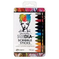 Ranger - Media scribble sticks x12