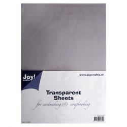 Joy!Crafts - Transparent sheets A4 5pcs