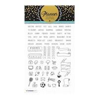 Studio Light - Clear Stamp A5 Planner Journal Nr.04