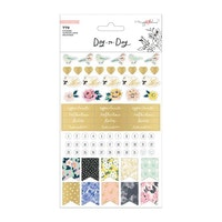 Crate Paper - Day-to-Day disc planner sticker book Phrase
