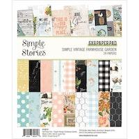Simple Stories - Farmhouse Garden 6x8 paper pad