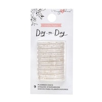 Crate Paper - Day-to-Day planner discs small Gold glitter