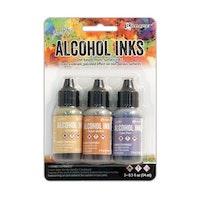 Tim Holtz Alcohol Inks Wildflowers