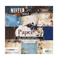 Studio Light paperpad 6 x 6 inch -Winter Trails