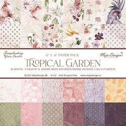 """Maja Design Tropical Garden - 6x6"""" Collection Pack"""