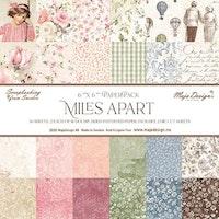"Maja Design - Miles Apart - 6x6"" Collection Pack"