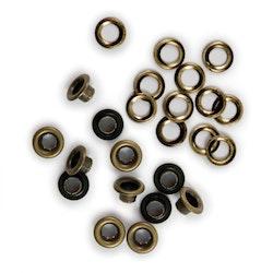 We R Memory Keepers - Eyelet & Washer Standard Nickel