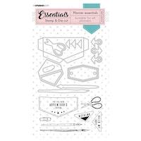 Studio Light -  Stamp & Die-cut Essentials Planner nr.54