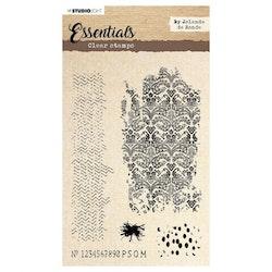 Studio Light • Clear stamp essentials by Jolanda de ...
