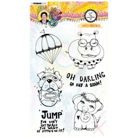 Studio Light - Clear stamp Goofy animals Marlene's ...