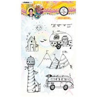 Studio Light • Clear stamp Happy holiday Marlene's ...