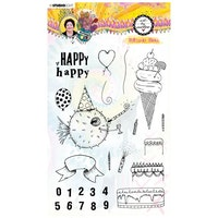 Studio Light -  Clear stamp Birthday bash Marlene's ...