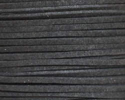 Svart mocka/läderband imitaion - 1m x 3mm