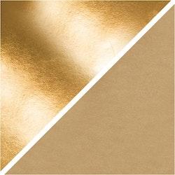 1m Läderpapper - Guld
