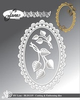 """BY LENE DIES """"Frame with leaves"""""""