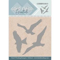 Card Deco Mini Dies - Fåglar