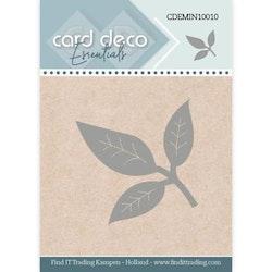 Card Deco Mini Dies - Blad