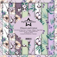 Paper Favourites Paper Pack 12x12 - Flowers and Cotton