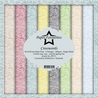 Paper Favourites Paper Pack 12x12 - Crosswords
