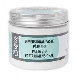 Sizzix Effectz Dimensional Paste White 150ml