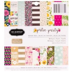 "Jen Hadfield paper pad 6x6"" - Patio Party"