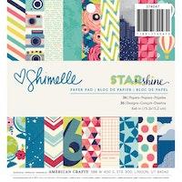 Shimmel - Paper pad 6x6 -  Starshine