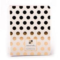 DCWV - Designer notebook planner gold dots