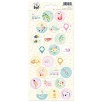 Piatek13 - Sticker sheet Summer vibes 03