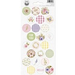Piatek13 - Sticker sheet Stitched with love 03